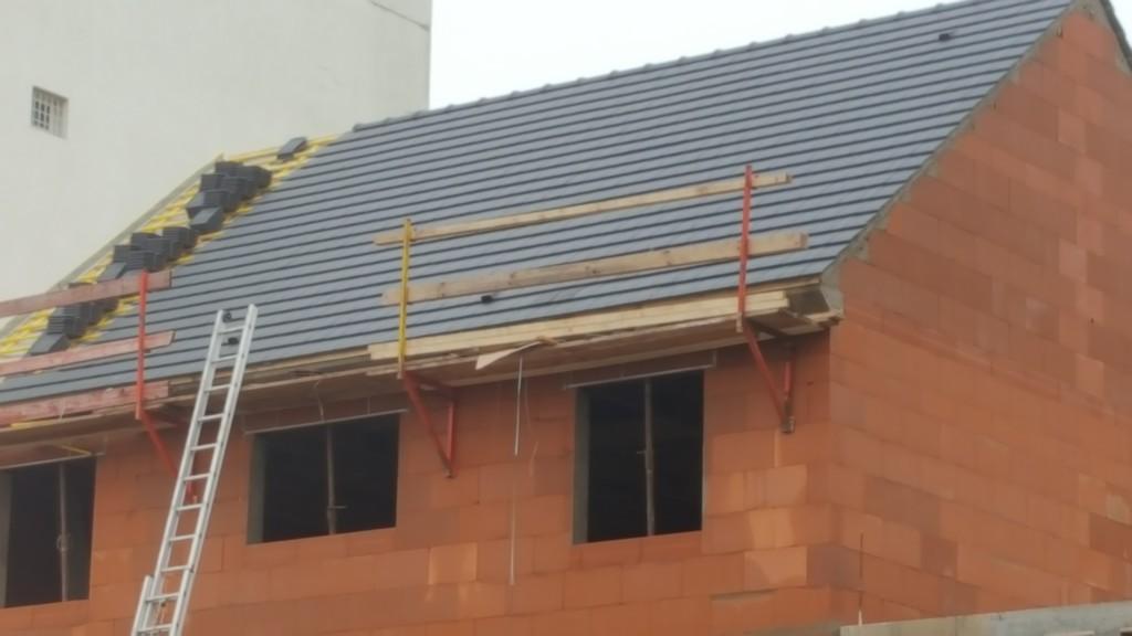 Couvreur 95 deuil la barre nairat r novation toiture 95 val d 39 oise - Pente de toit ardoise ...
